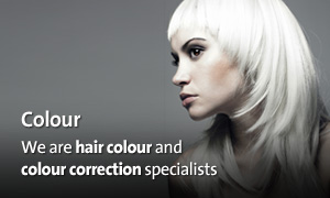 We are hair colour and colour correction specialists